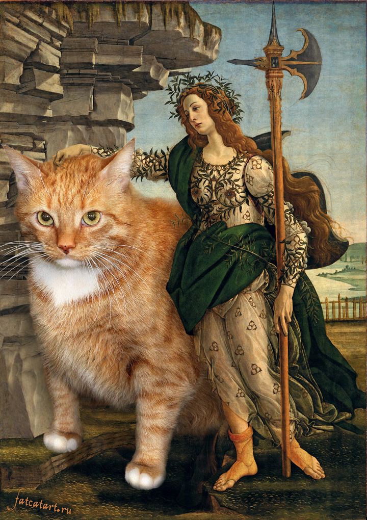 botticelli-pallas-and-the-centaur-cat-sm