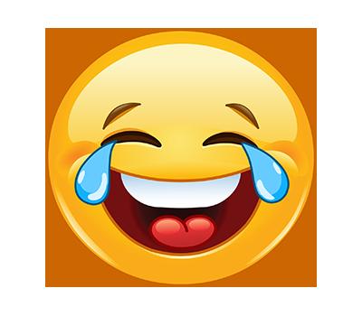 Emoji Rostro con Lagrimas de Alegria